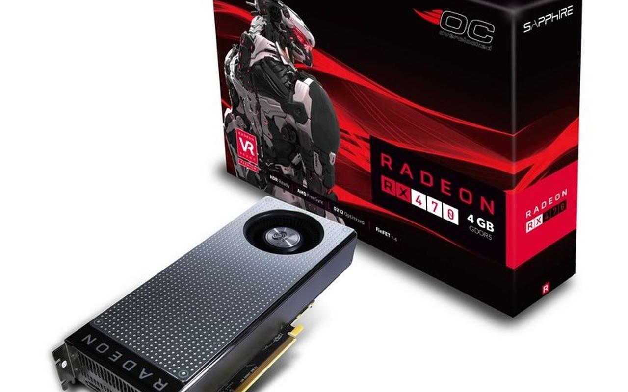 Sapphire RX 470 Nitro+ 4GB 8GB
