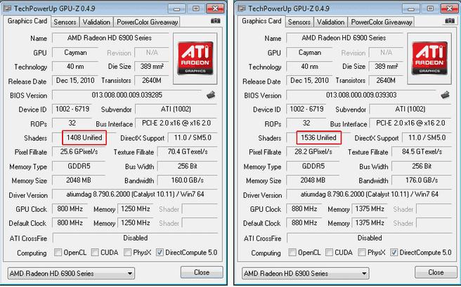 Upgrade: van 6950 naar 6970