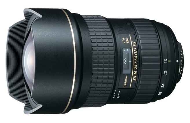Tokina 16-28mm f/2.8