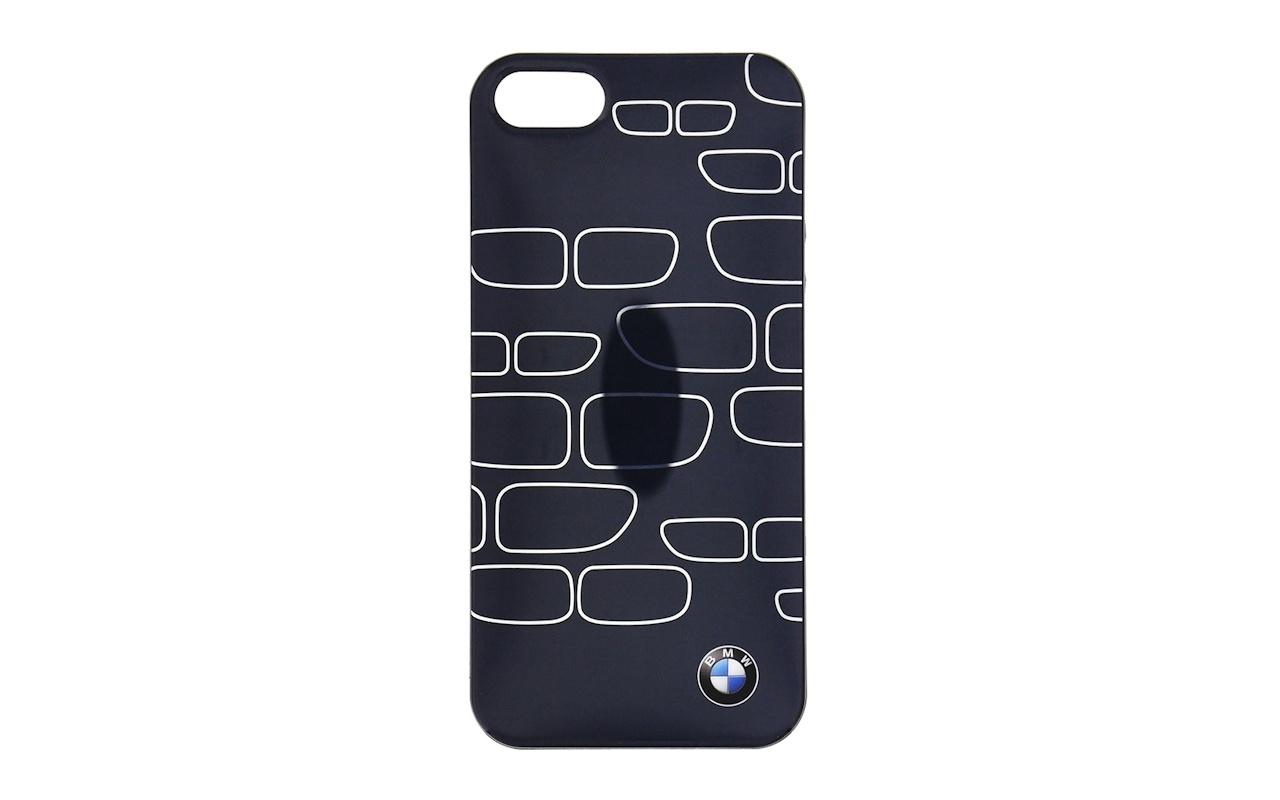 BMW Grille Patroon TPU Case voor Apple iPhone 5/5S/SE - Grijs/Zilver