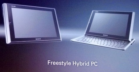 Sony Vaio Freestyle Hybrid PC