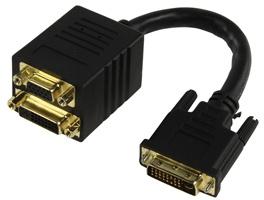 ValueLine DVI-I - DVI-I + VGA, 0.1m
