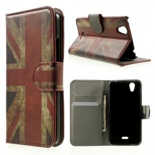 qMust Wiko Birdy Wallet Case - hoesje met stand - UK