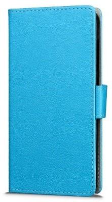 qMust Wiko UPulse Wallet Case - hoesje met stand - Blauw