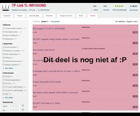 Forumtab van TPlink voor Tweakers 7