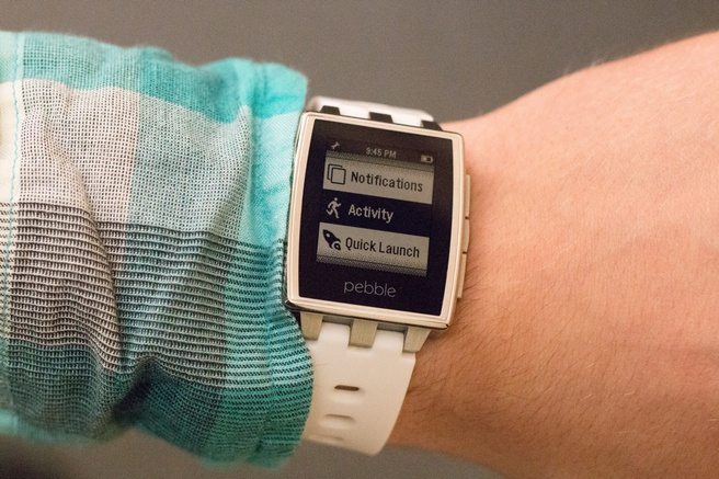 Activitytracker op Pebble