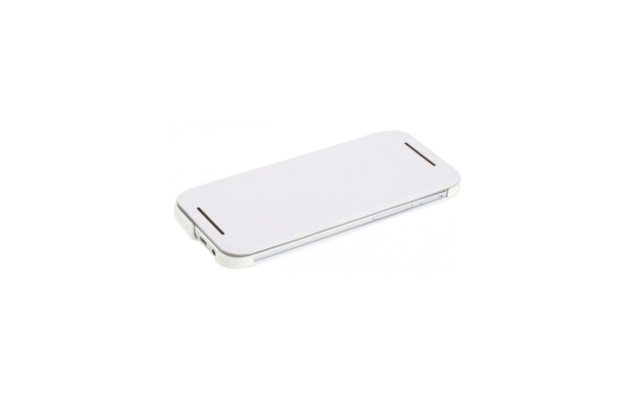 Rock Smart Leather Case HTC One M8 (EXCEL Serie white)