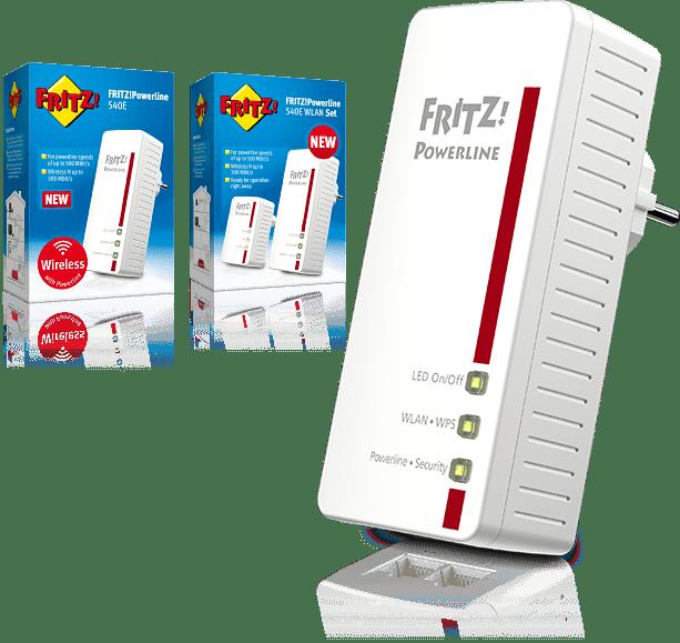 AVM FRITZ! Powerline 540E WLAN Set Edition International