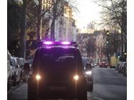 Ford autonome auto lichtbalk