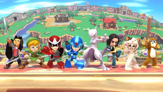 Super Smash Bros. Wii U Mewtwo