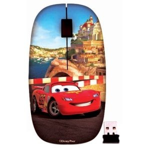 Disney Interactive Wireless Mouse Cars