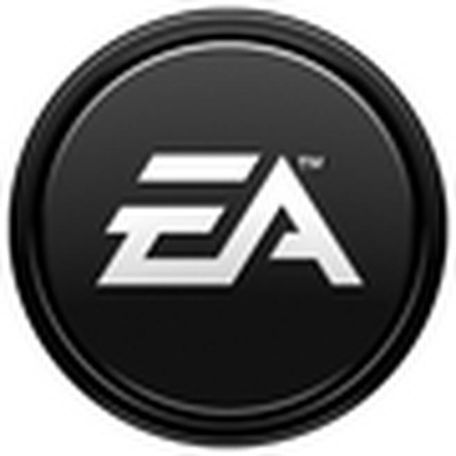 Electronic Arts Games logo (zwart, 90 pix)