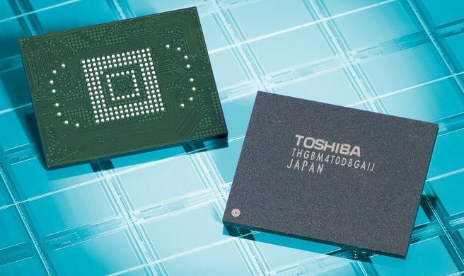 Toshiba 24nm-e-mmc
