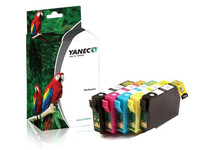 Yanec Yanec T1295 Zwart en Kleur 5-pack (Epson)