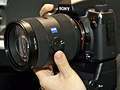 Alpha DSLR-A900 met Carl Zeiss-lens