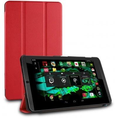 qMust Nvidia Shield K1 Smart Tri-Fold Case - Red
