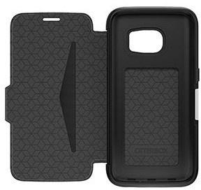 Otterbox Strada 2.0 Samsung Galaxy S7 edge Leather Case - Phantom Black