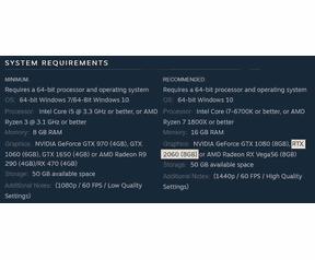 RTX 2060 8GB