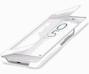 Sony Style Cover Touch SCTF20 voor Xperia X Compact Wit