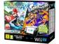 Goedkoopste Nintendo Wii U Premium + Mario Kart 8 + Splatoon Zwart