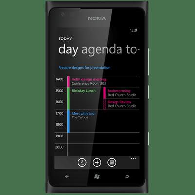 Nokia Lumia 900 Zwart