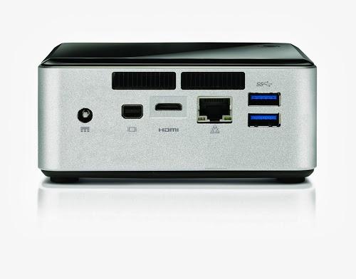 "Intel Intel Next Unit of Computing (3de generatie) Core i3-4010U (met 2.5"" hdd space)"