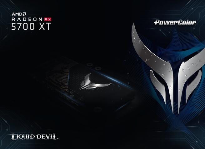 PowerColor Liquid Devil RX 5700 XT Teaser