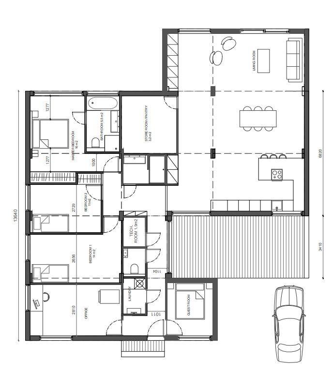 Ervaringen met het bouwen van een huis deel 1 wonen verbouwen got - Lay outs binnenkomst in het huis ...