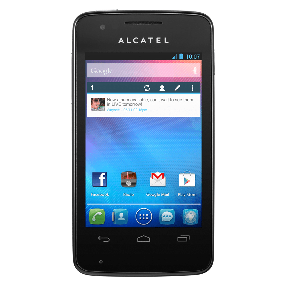 Alcatel One Touch S pop Zwart (KPN-prepaid ...