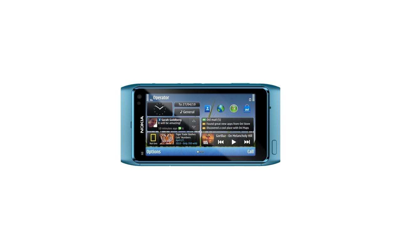 Nokia N8 Blauw - Specificaties - Tweakers