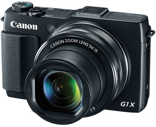 Canon PowerShot G1 X Mark II Zwart