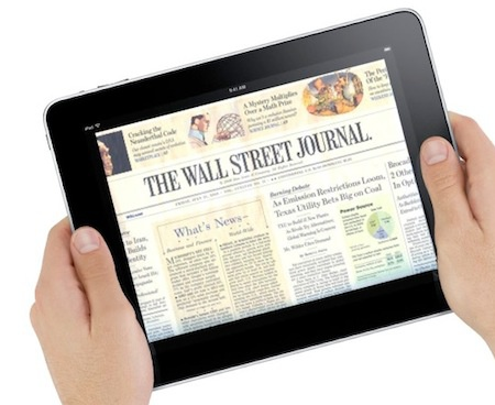 iPad met Wall Street Journal