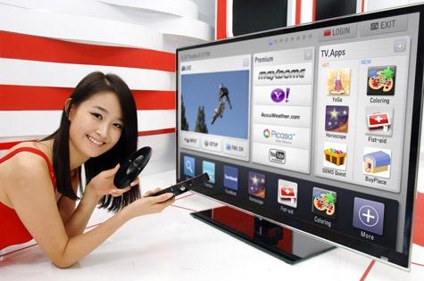 LG Smart TV-platform