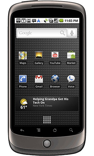 Google Nexus One US Grijs