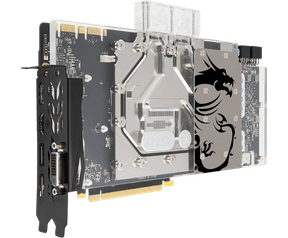 MSI GeForce® GTX 1080 SEA HAWK EK X 8GB