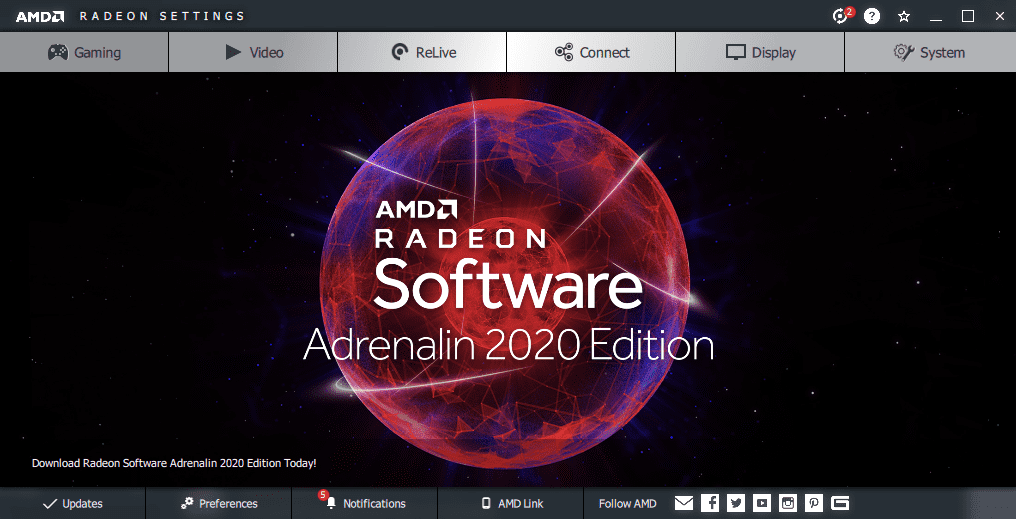 AMD Adrenalin 2020