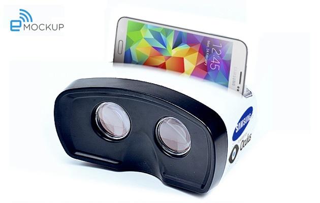 Mockup Samsung vr-bril