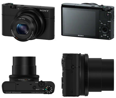 Sony RX100 high-end compactcamera
