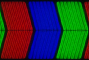 Philips PFL6007 subpixel structuur