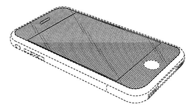 Apple iPhone patent tekening