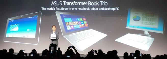Asus Transformer Book Trio