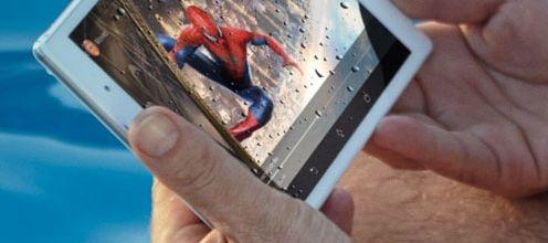 Sony Xperia kleine tablet