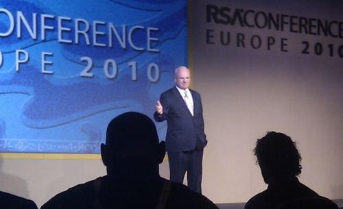 Richard A. Clarke op de RSA-beveiligingsconferentie in Londen