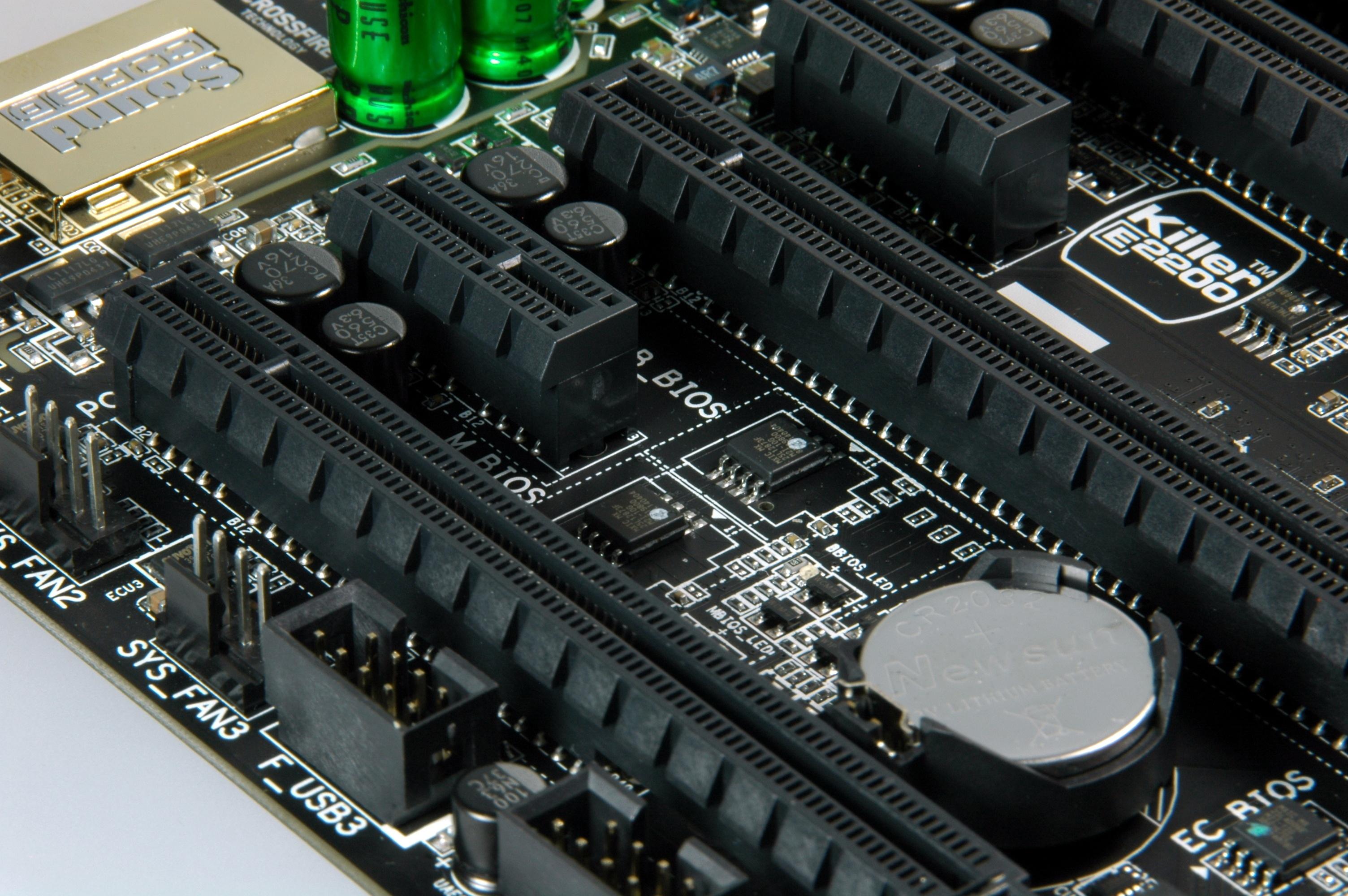 CMOS geheugens voor BIOS