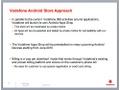 Vodafone App Shop sheet
