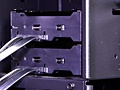 Cooler Master Cosmos II hotswap-bays: kabels