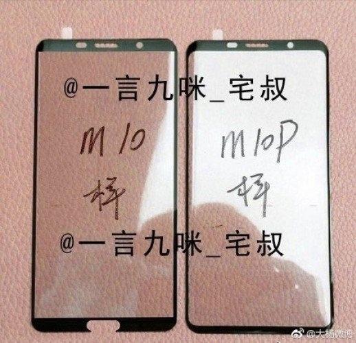 Glas van Huawei Mate 10 en 10 Pro