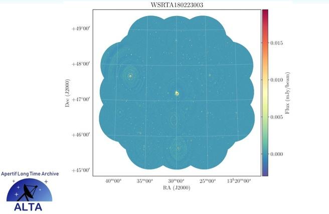 Astron WSRT Apertif beamimage