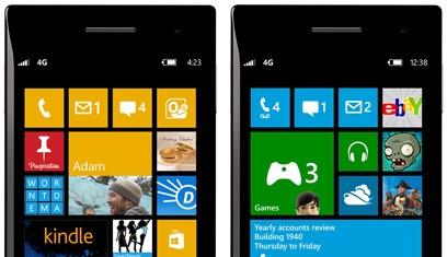 Windows Phone 7.8 update afbeelding