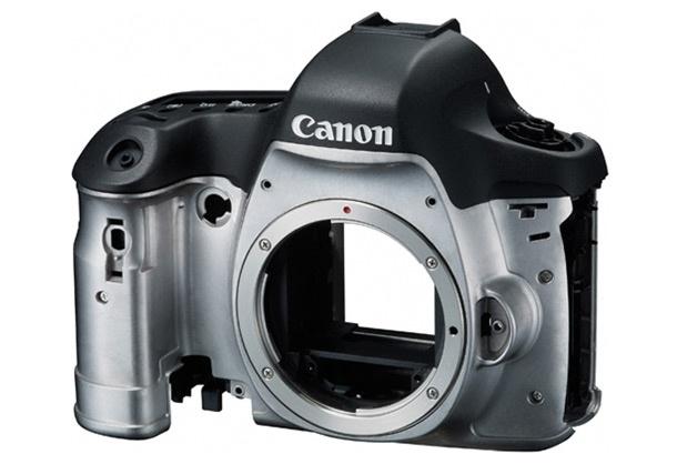 Canon EOS 6D build construction